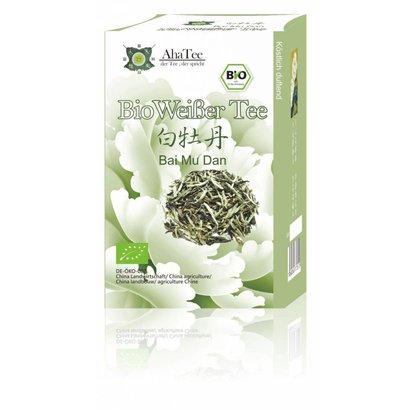 Aha Tee Bio Witte thee Bai Mu Dan 50g