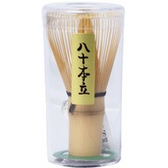 Theeborstel Bamboe 5,5x11cm Matcha