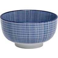 Kom 13x7cm Tokusa blauw china