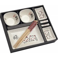 SUSHI set 10 delig kat decor