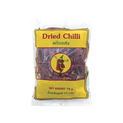 Thai dancer Gedroogde chillipepers LARGE 75g