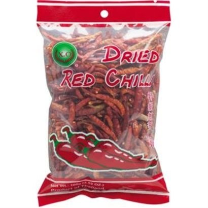 XO Gedroogde chillipepers 100g