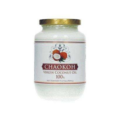 Chaokoh Virgine kokosolie 100% 450ml