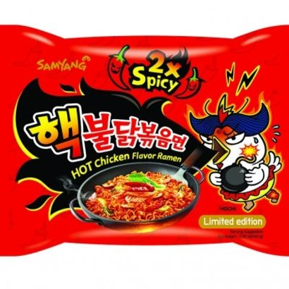 Samyang Instant Noedel kip  2x HEET 140g