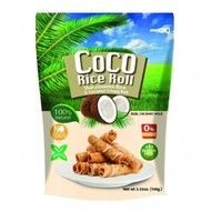 Coco Rice Roll Knapperige kokosnoot rijstrol met kokossmaak 100g