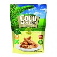 Coco Rice Roll Knapperige kokosnoot rijstrol met duriansmaak 100g
