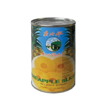 Mountain Elephant Ananas gesneden 425g