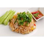 Recepten Gebakken rijst met kip