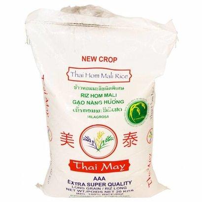 Thai May Thais geparfumeerde rijst heel 20kg