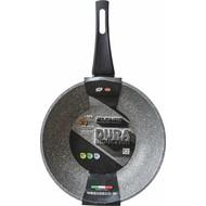 Flonal Cookware Wok met steel 32cm DURA INDUCTIE