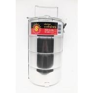 SUN Food Carriers / Bintoh Roestvrij staal 4delig 14cm