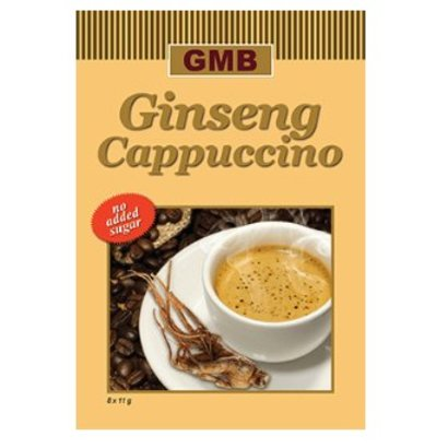 GMB Ginseng Cappuccino zonder suiker 8x11g