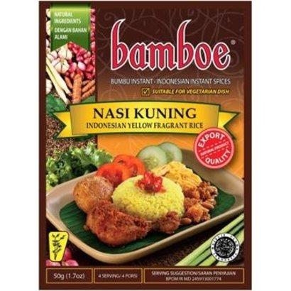 Bamboe Bumbu Nasi Kuning 50g