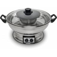 Fonduepan 3,8L met grill