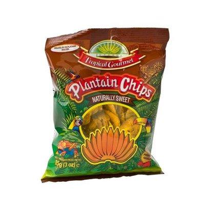 Tropical Gourmet Bananenchips zoet 85g