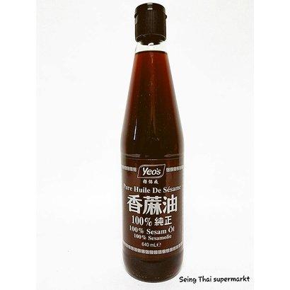 Yeo's Sesamolie 100% van geroosterde sesamzaad 640ml