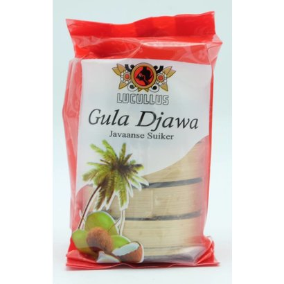 Lucullus Gula Djawa schijf 250g
