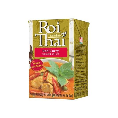 Roi Thai Instant rode curry soep 250ml