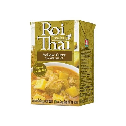 Roi Thai Instant gele curry soep 250ml