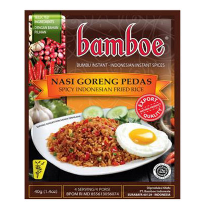Bamboe Bumbu nasi goreng pasta  pedas 40g