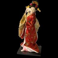 Klederdracht pop 40cm Japanse kleding GEISHA