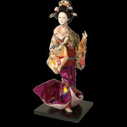 Klederdracht pop 30cm Japanse kleding GEISHA
