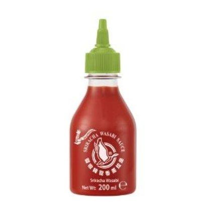 Flying Goose Sriracha saus met wasabi