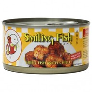Smiling Fish Gebakken vis met chilli 90g