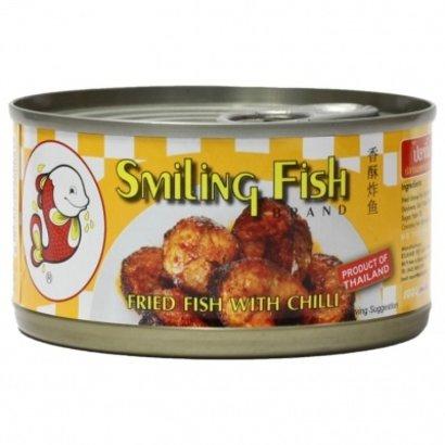 Smiling Fish Gebakken vis met chilli 90g