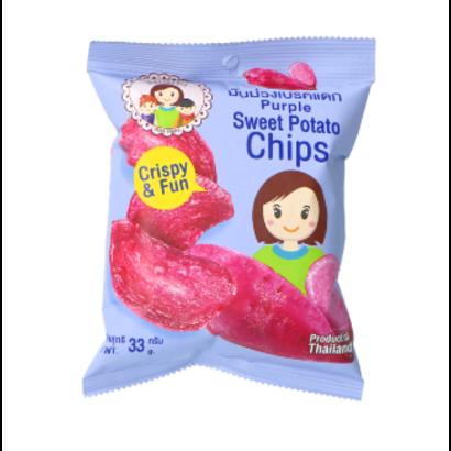 Mae Napa Paarse aardappelen chips 33g