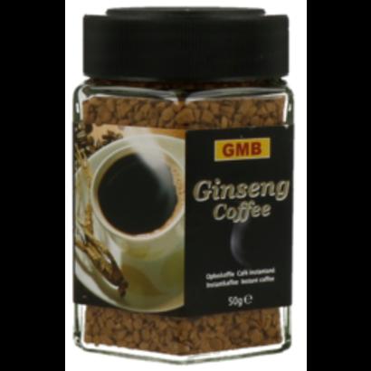 GMB Ginseng koffie BIO ( vegan, glutenvrij & bio)50g oploskoffie