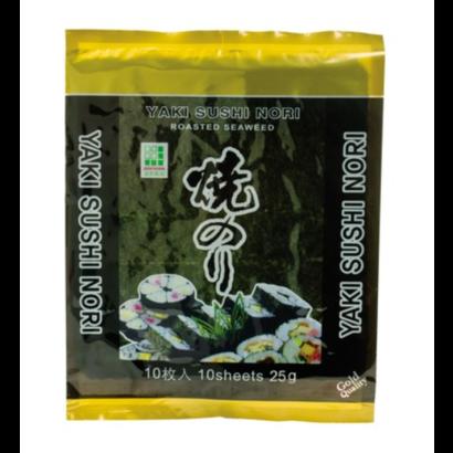 JH Foods Zeewier gerookt gouden kwaliteit 25g
