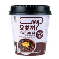 TOPOKKI Koreaanse Rijstcake Jjajang cup 140g