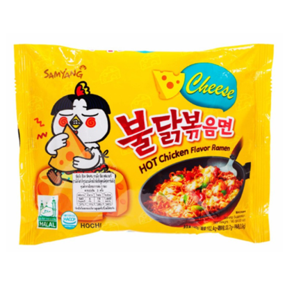 Samyang Instant noedel Hete kip kaassmaak 140g