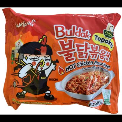 Samyang Instant noedel Hete kip Buldak Topokki 140g