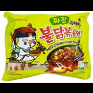 Samyang Instant noedel Hete kip JjaJang 140g ( zwarte bonensmaak)