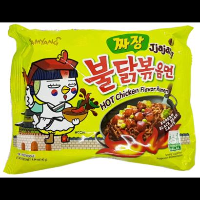 Samyang Instant noedel Hete kip JjaJang 140g