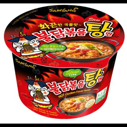 Samyang Instant noedel Hete kippensmaak BIG Bowl 105g Stew