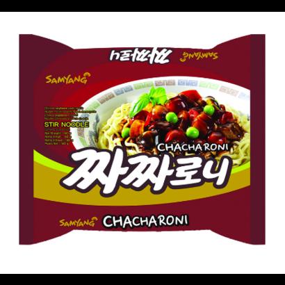 Samyang Instant noedel Chinese sojabonen ramen CHACHARONI 140g