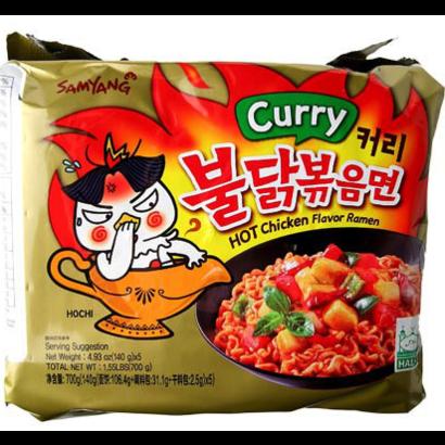 Samyang Instant noedel Hete kippensmaak  CURRY 145g