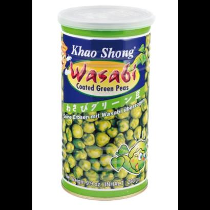 Khao Shong Wasabi erwten 280g blik