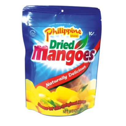 Philippine Brand Gedroogde mangoreepjes snack 170g