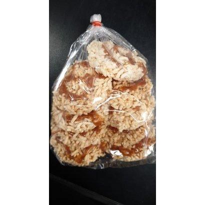 Gepofte rijst met caramel 150g