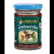 Mae Pranom Namprik Chilli pasta met vis (namprik cheawbong) 228g