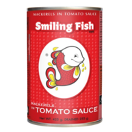 Smiling Fish Gebakken makereel in tomatensaus 425g