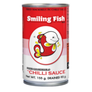 Smiling Fish Gebakken makereel in chillisaus 155g