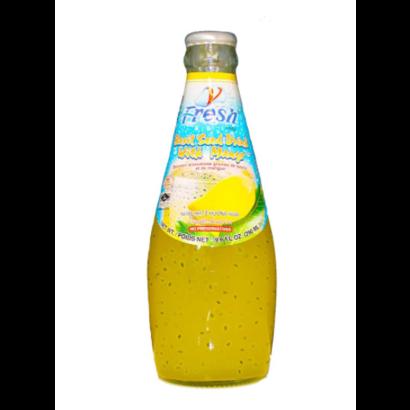 V-Fresh Mangosap met basilicum zaadjes