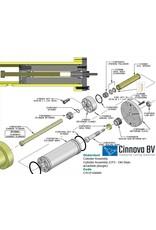KMT Style Plunger, Carbide, IOC/CP3