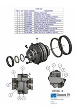 KMT Style Piston Assembly, Hydraulic