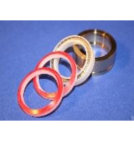 KMT Style Seal Assembly, Dynamic, HP Cylinder, (Energized)